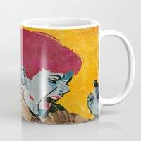 wesley bird Mugs featuring Bird by Alvaro Tapia Hidalgo