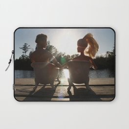 When The Moment Is Right Laptop Sleeve