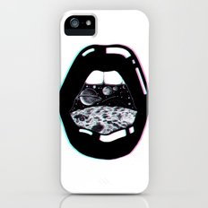Space Lips iPhone (5, 5s) Slim Case