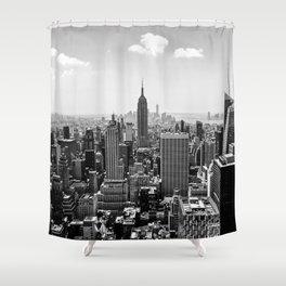 New York Skyline Shower Curtain