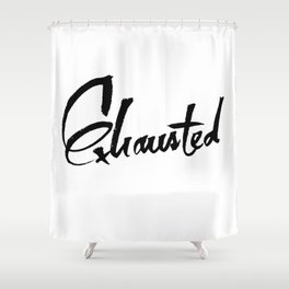 ZZZ Shower Curtain
