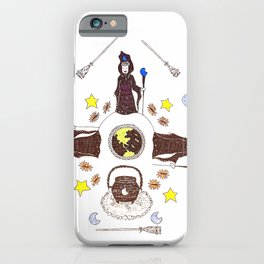 Coven of High Priestess iPhone Case