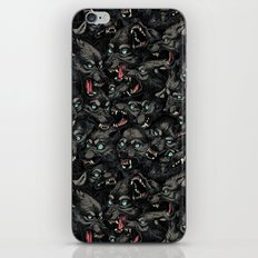 Wolf Pack Pattern iPhone & iPod Skin