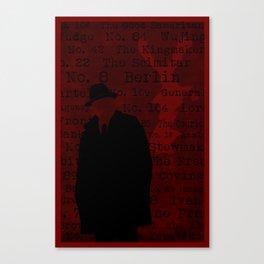 The List Canvas Print