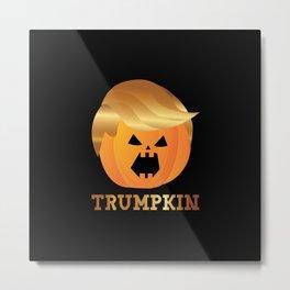 Trumpkin Halloween Metal Print