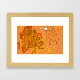 pskyoBird2011 Framed Art Print