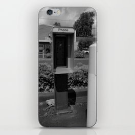 Where have all the pay phones gone? #6 iPhone Skin