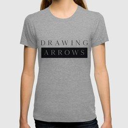 Drawing Arrows (black print) T-shirt