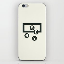 Money iPhone Skin