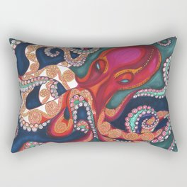 Octavia The Kraken Rectangular Pillow