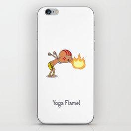 Yoga Flame! iPhone Skin