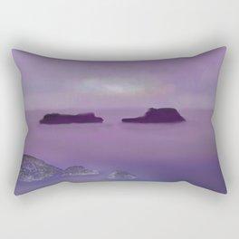Toward the Offshore Islands Rectangular Pillow