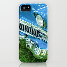 Bluesy iPhone Case