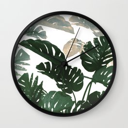 TROPICAL CLASSY LE Wall Clock
