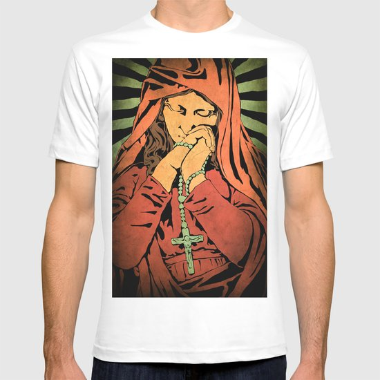 Virgin Mary (In color) T-shirt
