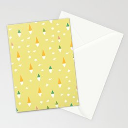 Happiness In Shapes 4 Stationery Cards