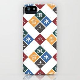 KAGE Symbol Japanese iPhone Case