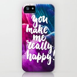 hapy iPhone Case