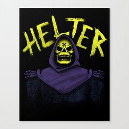Helter Skeletor Canvas Print