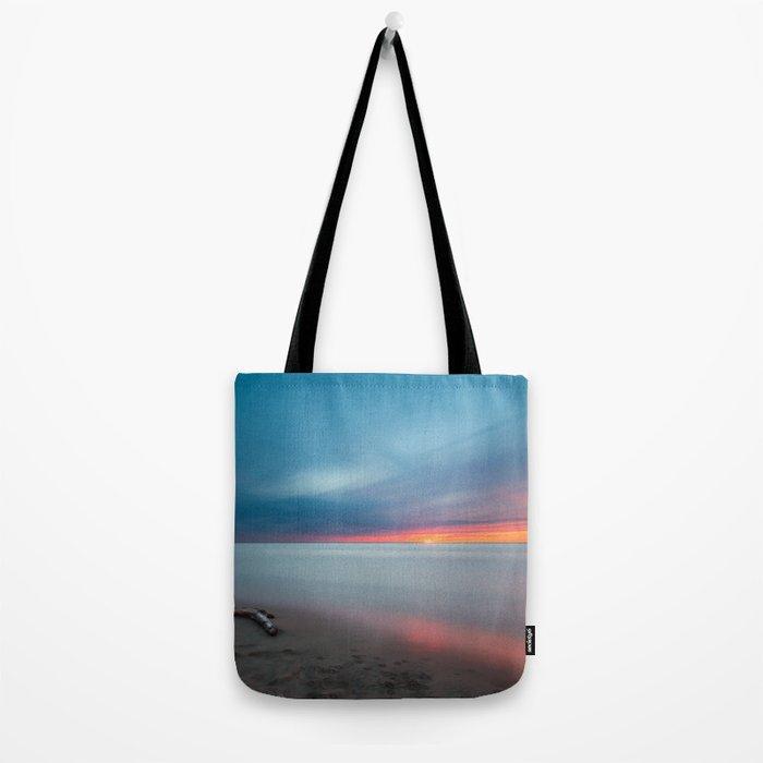 Sunset pastel #ocean Tote Bag