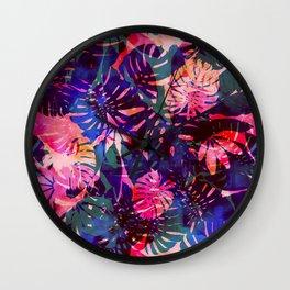 Motuu Tropical CMY Wall Clock