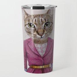 cat Mrs Travel Mug
