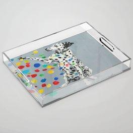 Dalmatian Acrylic Tray