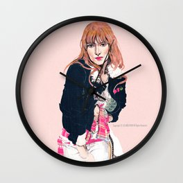 Oliva Wilde Wall Clock