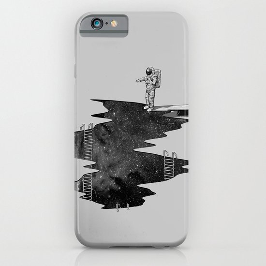 Space Diving iPhone & iPod Case