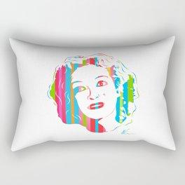 Baby Jane | Pop Art by William Cuccio Rectangular Pillow