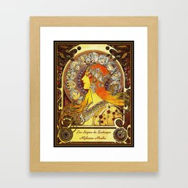 The Signs of the Zodiac Framed Art Print
