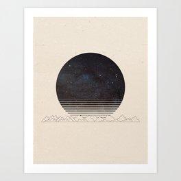 Spacescape Variant Art Print