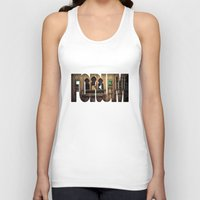 melbourne Tank Tops featuring The Melbourne Forum Theatre by Paul Vayanos