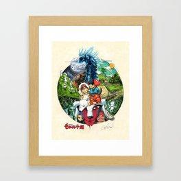 Princess Mononoke Art Print Framed Art Print