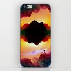 Vibrant Isolation Island iPhone Skin