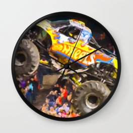 Team Hot Wheels Firestrom Wall Clock