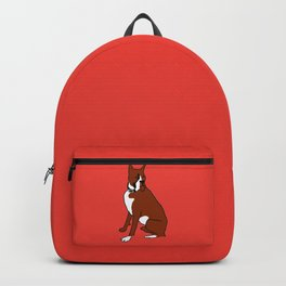 The cool boxer Backpack