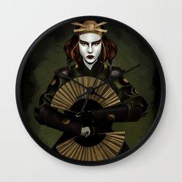 Kyoshi Warrior Painting Wall Clock