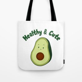 Healthy & Cute Tote Bag