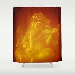 Ganesh, remover of obstacles Shower Curtain