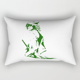 Green Soul Rectangular Pillow