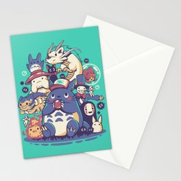 Creatures Spirits and friends Stationery Cards