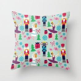 The Nutcracker Throw Pillow