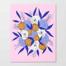 Autumn floral bouquet Canvas Print