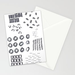 Abstract Marks Nr 1 Stationery Cards