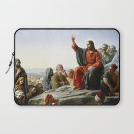 Carl Heinrich Bloch Sermon on the Mount 1877 Laptop Sleeve