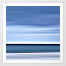watercolor - seascape no.04 Art Print