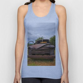 Old Chevy Truck Unisex Tank Top