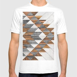 Urban Tribal Pattern No.12 - Aztec - Wood T-shirt
