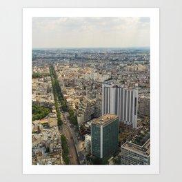 Tour Monparnasse Art Print